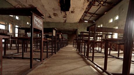 Une salle de classe au collège gouvernemental des sciences à Kagara, dans l'Etat de Niger, au Nigeria (image d'illustration).