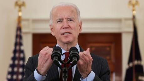 Le président américain Joe Biden s'exprime à la Maison Blanche, le 22 février 2021 (image d'illustration).
