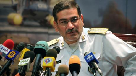 Ali Shamkhani lorsqu'il été ministre iranien de la Défense, le 9 août 2005 (image d'illustration).