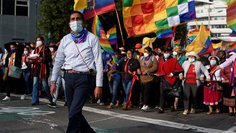 Equateur : le militant indigène Yaku Perez appelle l'armée à intervenir sur le résultat des urnes