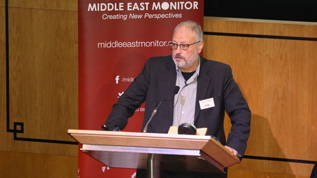 Jamal Khashoggi le 29 septembre 2018 à Londres (image d'illustration).