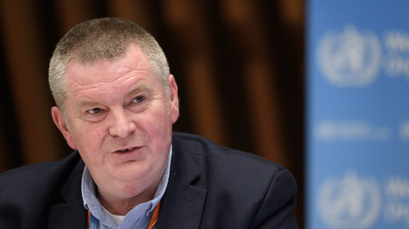 Michael Ryan de l'OMS, à Genève, juillet 2020 (image d'illustration).