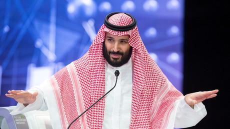 Le prince héritier saoudien Mohammed ben Salmane à Riyad le 24 octobre 2018 (photo d'illustration).