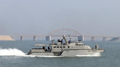 Un patrouilleur américain Mark VI navigant ici en mer d'Arabie (image d'illustration).