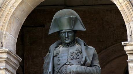 La statue de Napoléon à l'hôtel des Invalides (image d'illustration).