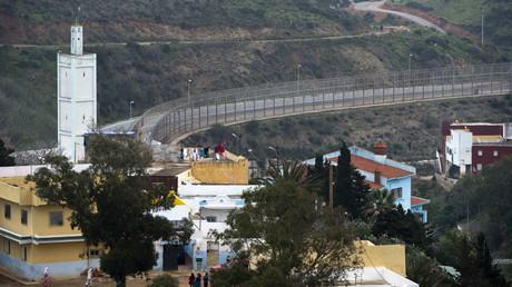 L'enclave espagnole de Ceuta dans le nord du Maroc le 17 février 2017. (Image d'illustration)