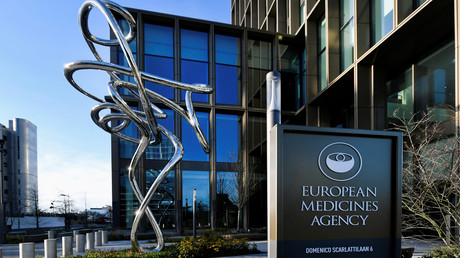 Les locaux de l'Agence européenne des médicaments, à Amsterdam, le 26 janvier 2021.