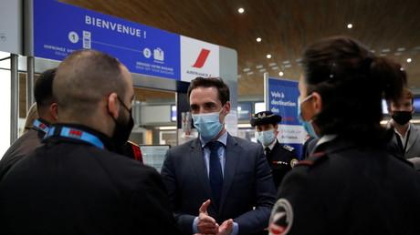 Le ministre délégué des Transports à l'aéroport Paris-Charles de Gaulle (image d'illustration).