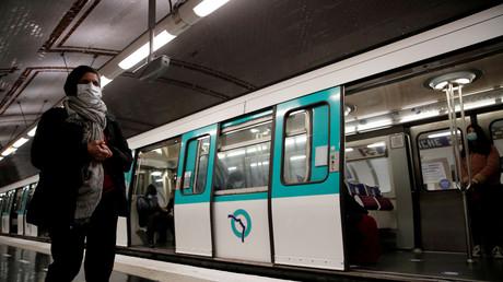 Métro parisien en mai 2020 (image d'illustration).