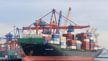 Le navire Iran Shahr-e-Kord en 2019 (illustration).