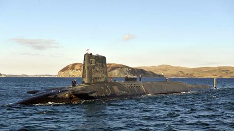 Le sous-marin nucléaire HMS Victorious au large de l'Ecosse, en avril 2013 (image d'illustration).