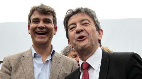 Il semble loin le temps des sourires entre les deux hommes, Arnaud Montebourg et Jean-Luc Mélenchon (image d'illustration de 2011).