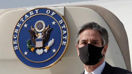 Antony Blinken, le secrétaire d'Etat des Etats-Unis, photographié lors d'un déplacement en Corée le 17 mars 2021 (illustration).