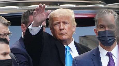 Donald Trump le 9 mars 2021 à New York (image d'illustration).