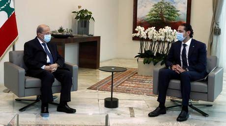 Le Premier ministre désigné Saad al-Hariri et le président Michel Aoun se sont rencontrés le 22 mars à Baabda pour évoquer la formation du futur du gouvernement.