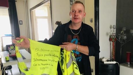 Manuel Coisne nous a reçus chez lui à Valenciennes (Nord).