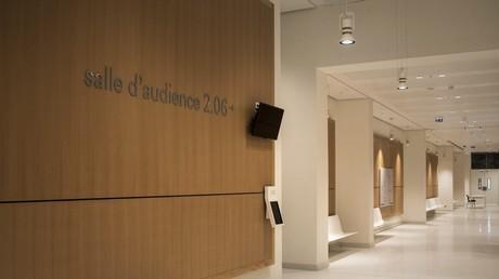Un couloir du tribunal de Paris (image d'illustration).