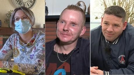 Valérie, Manu et David ont été blessés à vie alors qu'ils manifestaient dans le cadre d'actes des Gilets jaunes. RT France est allé à leur rencontre.