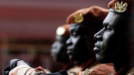 Forces spéciales de Côte d'ivoire lors d'un défilé militaire en 2017 (image d'illustration).