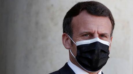 Emmanuel Macron à l'Elysée le 30 mars 2021 (image d'illustration).