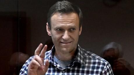 Alexeï Navalny, jugé à Moscou le 20 en février 2021 (image d'illustration).