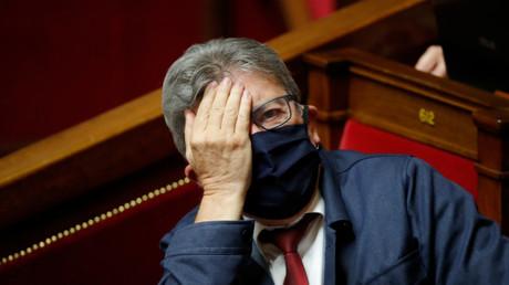 Le député LFI Jean-Luc Mélenchon à l'Assemblée nationale, le 15 septembre 2020 (image d'illustration).