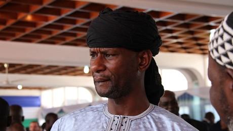 Sidiki Abass, feu leader du groupe armé centrafricain «3R», ici photographié le 6 février 2020 à Bangui (image d'illustration).