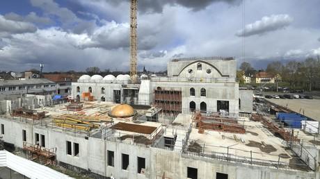 Le chantier de la mosquée Eyyub Sultan à Strasbourg, 6 avril 2021 (image d'illustration).
