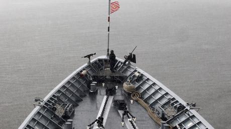 L'USS Vella Gulf dans la mer Noire le 5 juin 2014 (image d'illustration).
