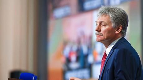 Le porte-parole du Kremlin, Dmitri Peskov, en décembre 2020 (image d'illustration).