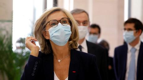 La présidente de la région Ile-de-France Valérie Pécresse à Paris, le 8 mai 2020 (image d'illustration).