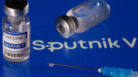 Une dose du vaccin Spoutnik V.