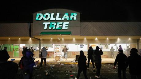 Un magasin pillé à Brooklyn Center, dans le Minnesota, le 12 avril 2021 (image d'illustration).