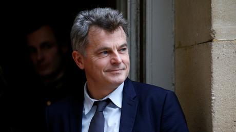 Le secrétaire national du PCF Fabien Roussel à Matignon, le 3 décembre 2018 (image d'illustration).