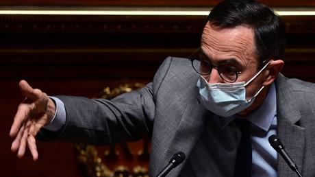 Bruno Retailleau (LR) au Sénat le 1er avril, Paris (image d'illustration).