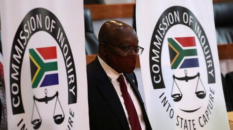L'ancien président sud-africain Jacob Zuma à Johannesburg, le 16 novembre 2020 (image d'illustration).