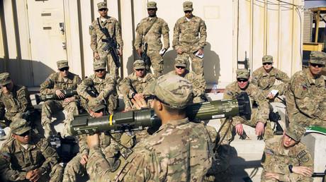Des soldats américain le 29 décembre 2014 en Afghanistan (image d'illustration).