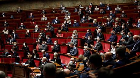 L'Assemblée nationale le 1er avril 2021 (image d'illustration).