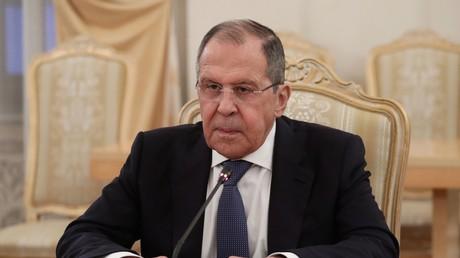 Le ministre russe des Affaires étrangères, Sergueï Lavrov, le 15 avril 2021 (image d'illustration).