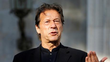 Imran Khan à Kaboul, en Afghanistan, le 19 novembre 2020.