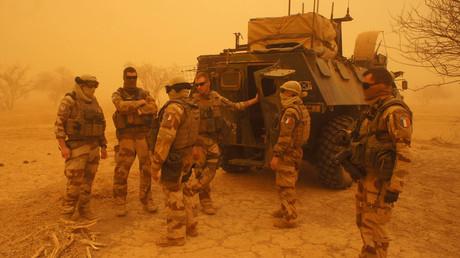Soldats français au Sahel le 26 mai 2016 (image d'illustration).