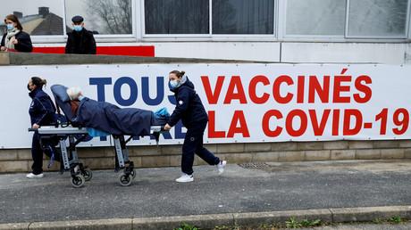 Un centre de vaccination à Melun le 8 février 2021 (image d'illustration).