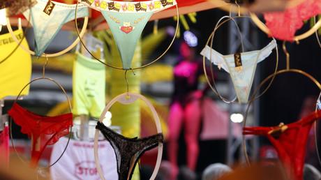 Un magasin de lingerie à Nice en France le 1er octobre 2011 (image d'illustration).