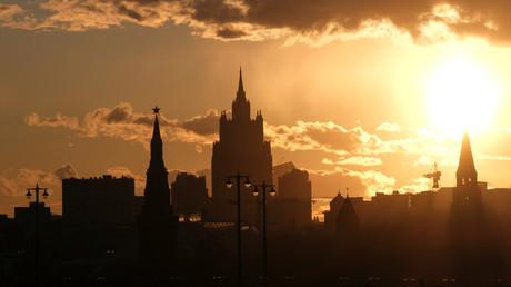 Vue du ministère russe des Affaires étrangères à Moscou (illustration).