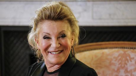 Sheila lors d'une interview au Consulat de France, à New York, le 1er mars 2018 (image d'illustration)