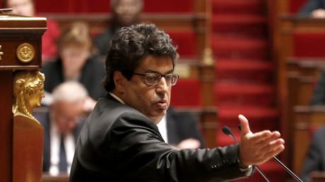 Meyer Habib à l'Assemblée nationale, le 28 novembre 2014.