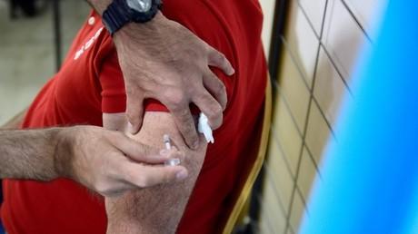 Injection d'un vaccin Pfizer-BioNTech à Marseille (image d'illustration).