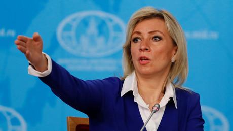 Maria Zakharova le 17 janvier 2021 à Moscou (image d'illustration).