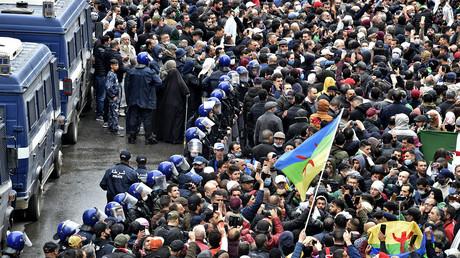 Manifestation du hirak à Alger le 22 février 2021