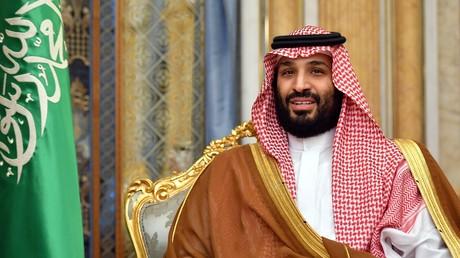 Le prince héritier saoudien Mohammed ben Salmane, lors d'une rencontre diplomatique avec l'ancien secrétaire d'Etat américain Mike Pompeo à Djeddah, Arabie saoudite, en septembre 2019 (image d'illustration).